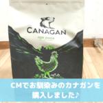 カナガンドッグフードCM