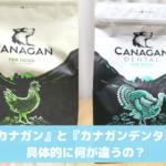 カナガンとカナガンデンタルの違いを比較